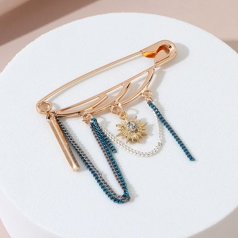 Fashion fairy style wild simple sun flower brooch wholesale NHPS245983's discount tags