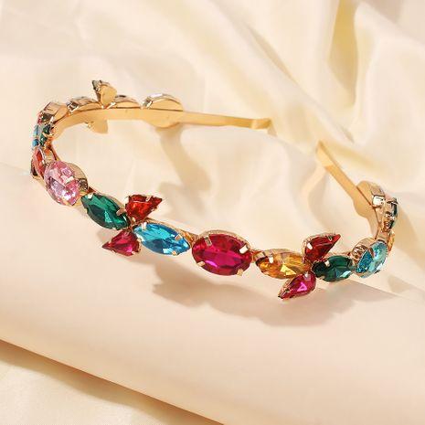 Diamantes de imitación de aleación barroca nuevo estilo caliente accesorios para el cabello diadema para mujer al por mayor nihaojewelry NHMD246187's discount tags