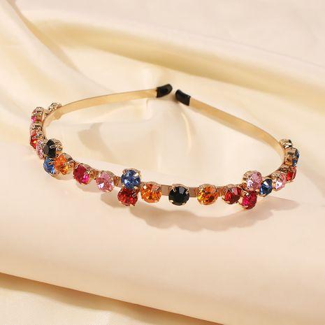 diadema brillante con diamantes retro horquilla al por mayor NHMD246196's discount tags