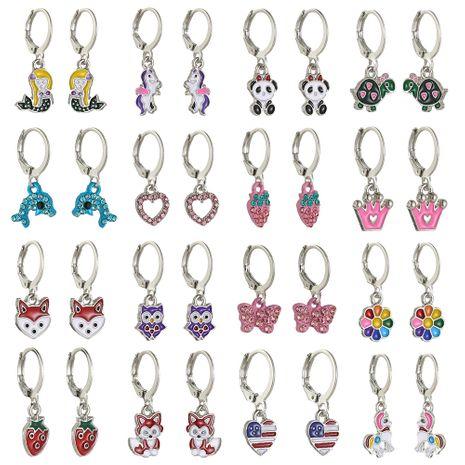 huile animale goutte à goutte mode nouvelles boucles d'oreilles dames mis en gros nihaojewelry NHSD246228's discount tags