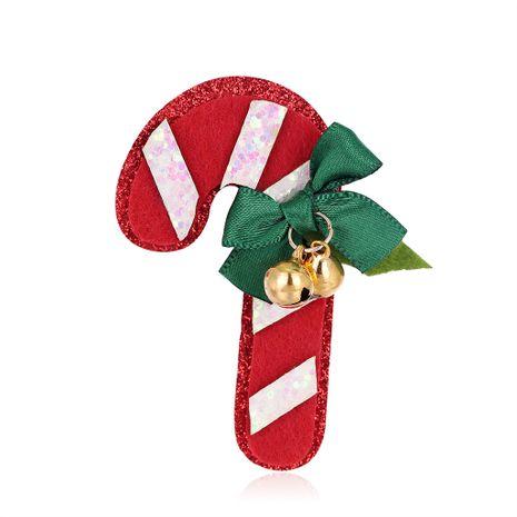 Nueva caricatura creativa broche de Navidad moda fieltro broche de Navidad al por mayor NHDR246256's discount tags