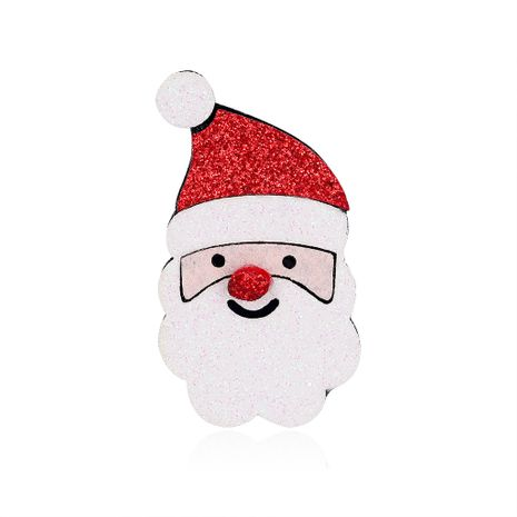 Christmas Ornaments Cute Cartoon Brooch Santa Felt Corsage wholesale nihaojewelry NHDR246258's discount tags