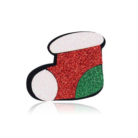 Serie de Navidad Adornos Botas de fieltro Broche Venta caliente al por mayor nihaojewelry NHDR246259's discount tags