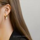 Korean pearl  threewear method Chinese Valentines Day earrings wholesale nihaojewelry NHOK246296