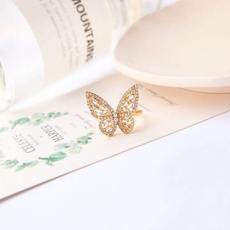 Bague de mode réglable ouverture papillon en gros Nihaojewelry NHQD246332's discount tags