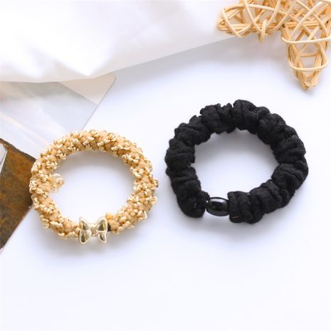 Fashion gilded buckle thick five-pointed star multi-element styling hair ring  NHDP246023's discount tags