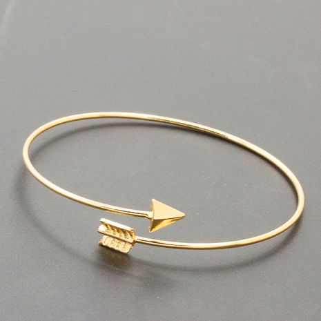 Korean fashion new alloy arrow open bracelet for women hot-saling jewelry wholesale NHDP246089's discount tags
