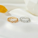 Korean hollow heartshaped ring  Wholesale nihaojewelry NHDP246107