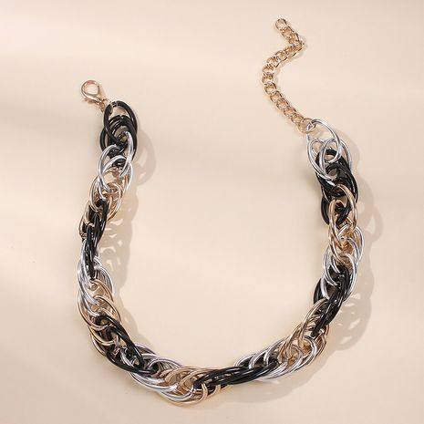 punk style exaggerated necklace  hot selling hip-hop chain NHMD246367's discount tags