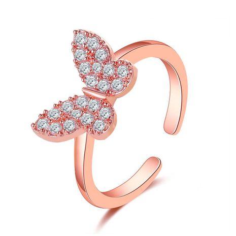 nouvelle bague papillon mode personnes simple ouverture réglable bague en gros nihaojewelry NHDP246097's discount tags