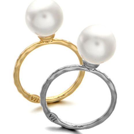 Bague de bijoux coréenne la plus vendue, simple et élégante, toute la bague fine de perles en gros NHDP246092's discount tags