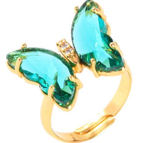Bague papillon coréenne index de la mode bague réglable en gros nihaojewelry NHQD246333's discount tags