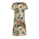 Fashion womens summer new printed shortsleeved Vneck casual dress NHYF246425