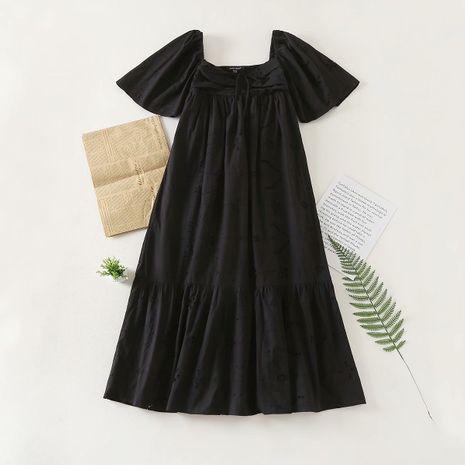 wholesale vestido étnico bordado hueco de otoño de moda para mujer. NHAM246515's discount tags