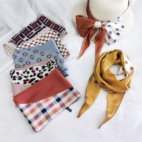 Nouvelle écharpe en soie longue en soie pour femmes NHMN246531's discount tags