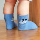 Childrens autumn new cartoon animal baby short socks solid color loose mouth cotton socks wholesale NHER246550