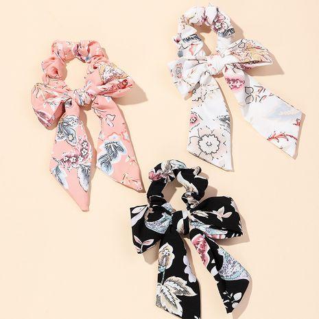 nouveau nœud papillon cravate queue de cheval tissu noué impression chapeaux 3 ensembles accessoires pour cheveux NHAU246586's discount tags