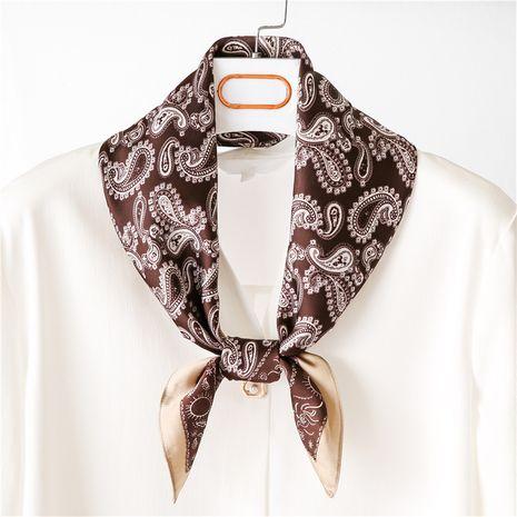 nouvelle écharpe carrée en soie coréenne de printemps sauvage pour femmes NHGD246743's discount tags