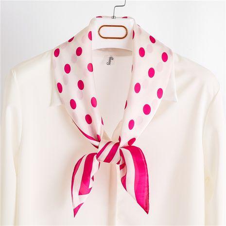 Mode féminine coréenne sauvage nouvelle décoration d'automne en soie petite écharpe carrée NHGD246746's discount tags