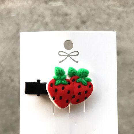 Korean cute  fruit cartoon broken hair bb clip  NHDI246835's discount tags