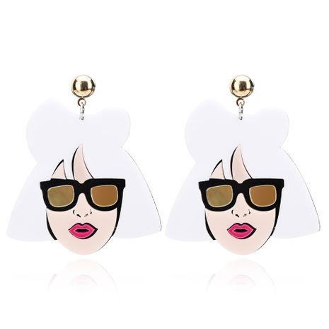 Hip Hop lustig übertrieben große Ohrringe Mode Frauen reisen Urlaub Ohrringe Großhandel Nihaojewerly NHXI246886's discount tags
