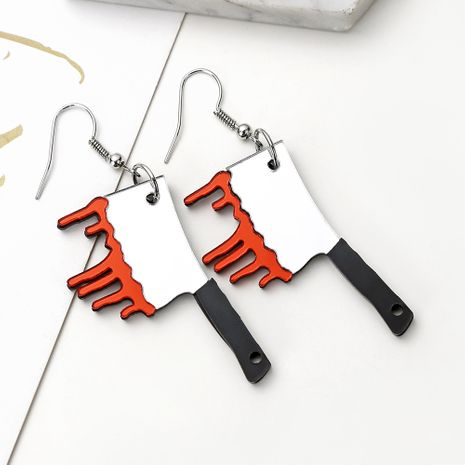 neues Acryl Küchenmesser Lustige kreative süße Ohrringe Großhandel nihaojewerly NHXI246912's discount tags