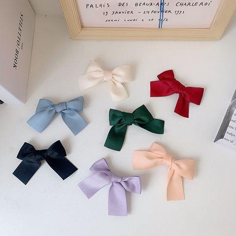 Nouveau clip latéral en épingle à cheveux arc multicolore coréen en gros nihaojewerly NHOF247089's discount tags