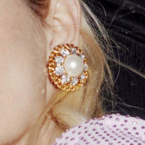 boucles d'oreilles en alliage de diamant NHJE247129's discount tags