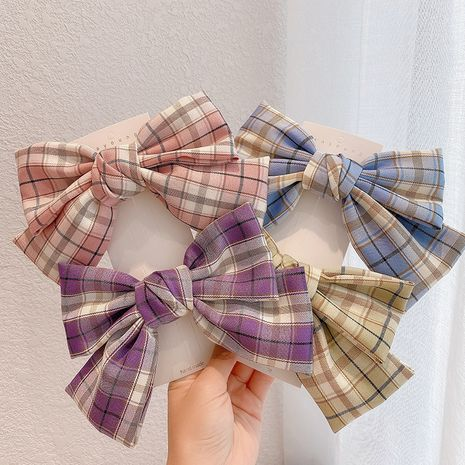 Korea new big bow hairpin spring clip all-match top clip wholesale nihaojewelry NHCQ247222's discount tags