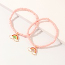 nouveaux bracelets de perles de riz faits  la main deux ensembles de bracelet d39huile dgoulinant d39arcenciel pour enfants en gros NHNU247356