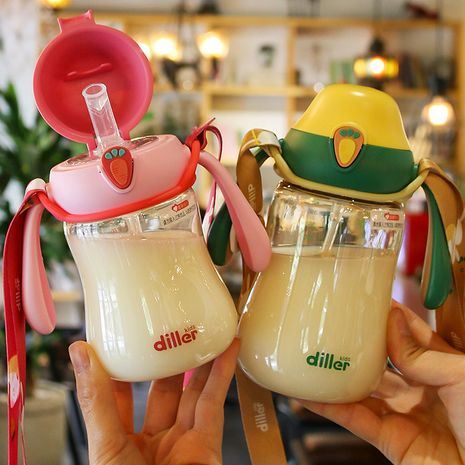 Children's bottle anti-colic baby milk powder cup wide mouth with scale drinking cup NHtn247435's discount tags