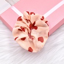 t nouvelle cravate de cheveux tissu mousseline de soie  pois cravate tte de cheveux corde en gros NHCL247473