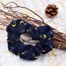 Core fille lune cravate de cheveux tissu en mousseline de soie queue de cheval bande de caoutchouc tte corde cravate de cheveux en gros NHCL247485
