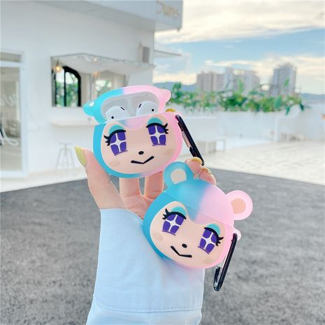 Anime cartoon protective sleeve for Apple Airpods wireless bluetooth headset protective sleeve Airpods 1 2 generation NHFI247505's discount tags