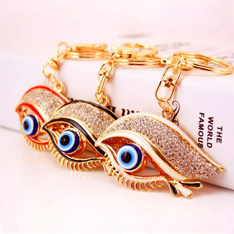 Devil's Eye Fashion Exquisite Eye Shape Car Keychain Buckle Bag Decoration gifts for Girlfriend  NHAK247602's discount tags