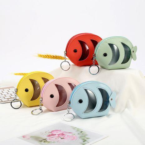 Creative petit poisson porte-monnaie Corée stockage pièce sac mini portefeuille en gros NHAE247626's discount tags