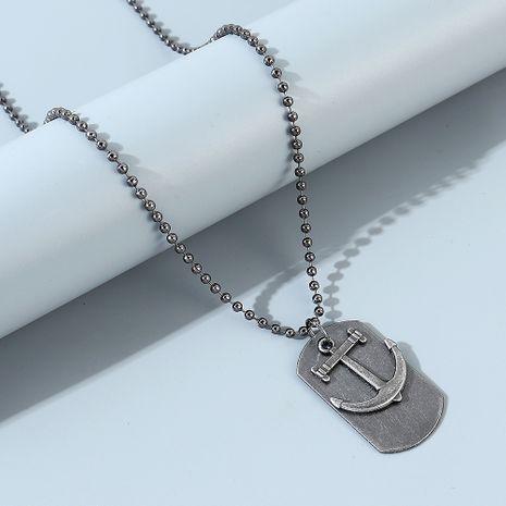 Collar de gancho de ancla de línea de tendencia de personalidad creativa coreana NHPS247682's discount tags