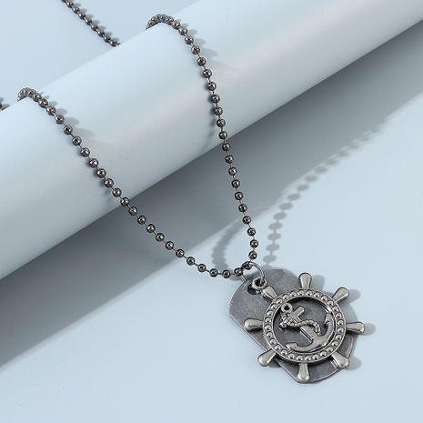 collar de timón exagerado creativo simple personalidad salvaje NHPS247685's discount tags