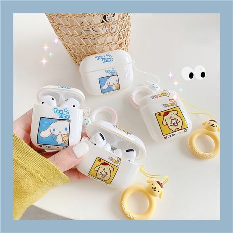 Cute Pudding Dog Soft Shell Protective Case for Apple AirpodsPro/1 2 Bluetooth Headset Cartoon Cinnamon Dog NHFI247514's discount tags