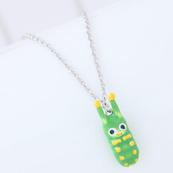 Koreanische Mode se OL Raupe exquisite Halskette fr Frauen NHSC247715