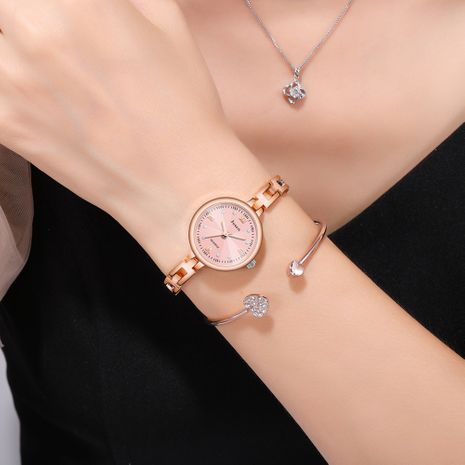 Trendy Fashion Korean Small Strap Water Diamond Girls Student Bracelet Small Dial Watch NHSS247716's discount tags