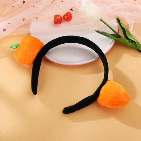 Fashion cute carrot wild go out salted fish funny headband wholesale NHPJ247726's discount tags