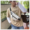 Korean tide sports  casual waist shoulder tooling messenger bag  NHTC247811