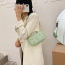 new trendy autumn fashion oneshoulder wild crossbody ethnic style small square badge bag for women  NHJZ247891