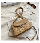 new trendy fashion rhombus messenger Korean portable small square bag for women NHTC247926