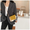 new trendy texture fashion casual shoulder messenger womens wild small square bag  NHTC247954