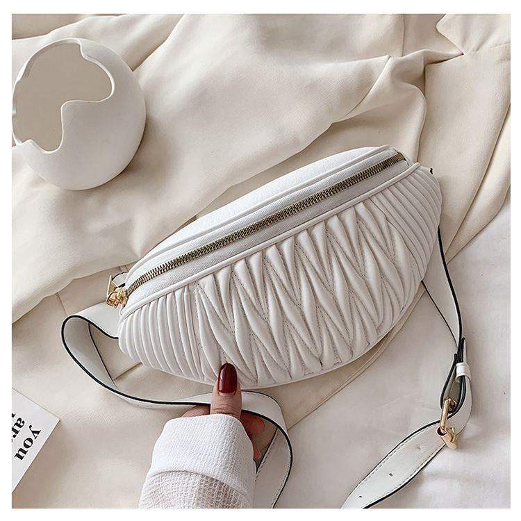 new trendy retro wide shoulder strap messenger fashion allmatch small tassel womens bag NHTC247974