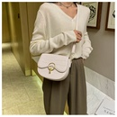 new trendy fashion wide shoulder strap messenger saddle allmatch retro small bag for women  NHTC247975