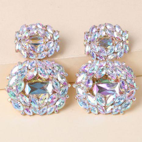 geometric metal pendant retro handmade fashion all-match alloy women's earrings jewelry NHJJ247992's discount tags