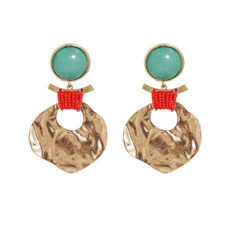 fashion geometric metal retro handmade wild women's earrings jewelry NHJJ247995's discount tags